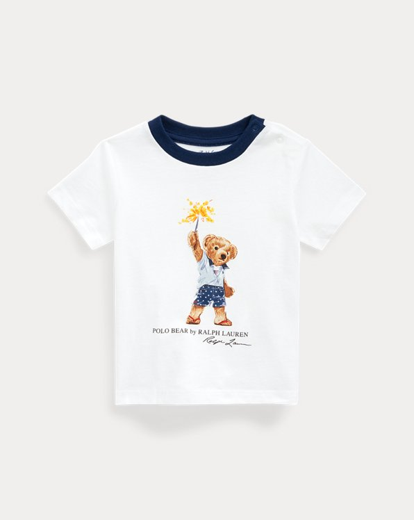 Sparkler Bear Cotton Tee