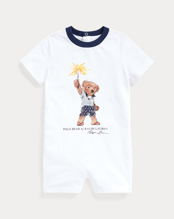 Polo Bear Cotton Shortall