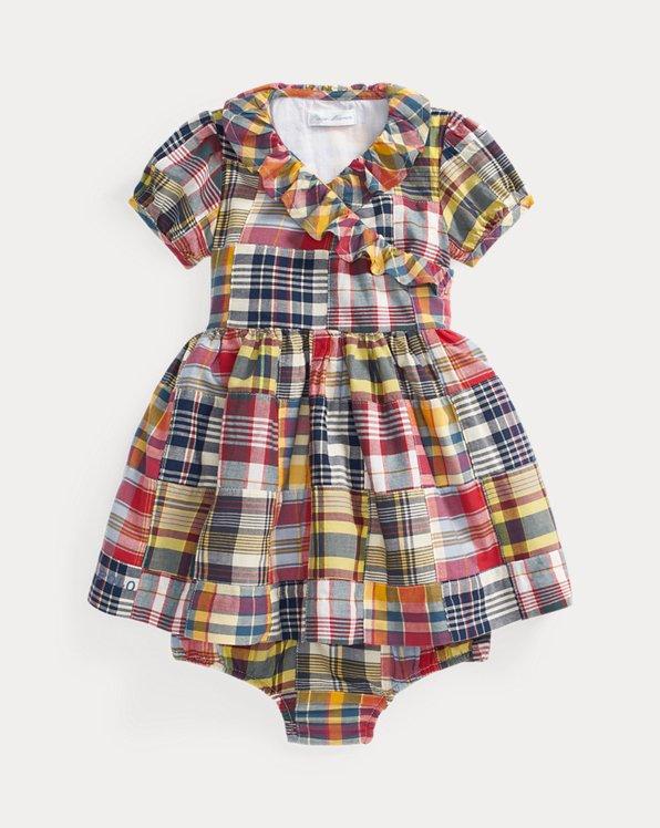 Wrap Dress & Bloomer