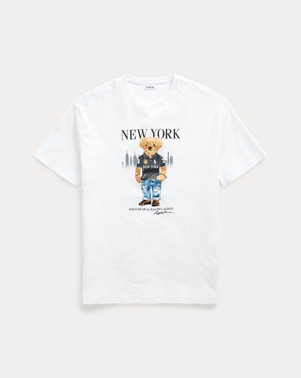 New York Bear Jersey T-Shirt