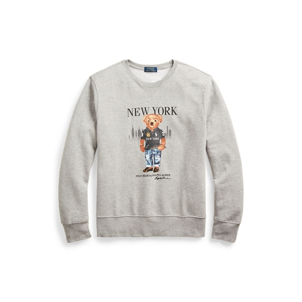 폴로 랄프로렌 Polo Ralph Lauren New York Bear Sweatshirt,Andvr Hthr - Ny