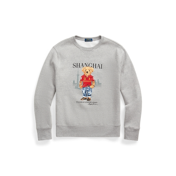 폴로 랄프로렌 Polo Ralph Lauren Shanghai Bear Sweatshirt,Grey