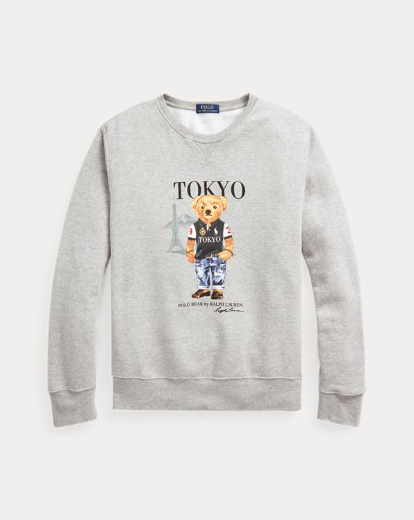 Tokyo Bear Fleece Sweatshirt