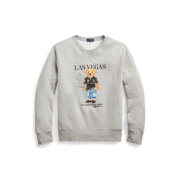 폴로 랄프로렌 Polo Ralph Lauren Las Vegas Bear Sweatshirt,Grey
