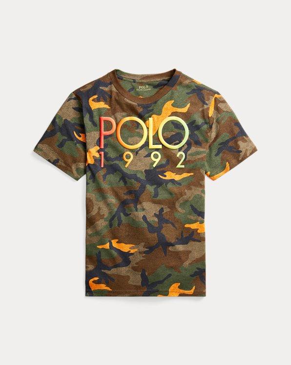 Camiseta de punto jerseycon camuflaje