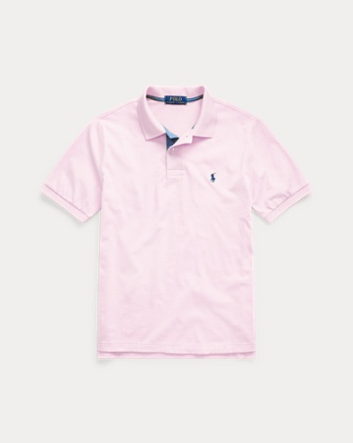 폴로 랄프로렌 보이즈 폴로셔츠 Polo Ralph Lauren Cotton Jersey Polo Shirt,Garden Pink
