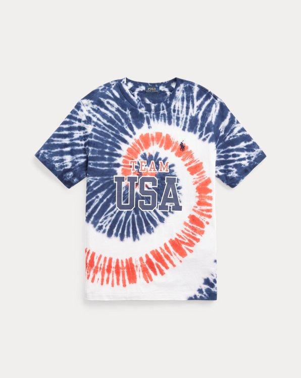 Team USA Tie-Dye Cotton Tee