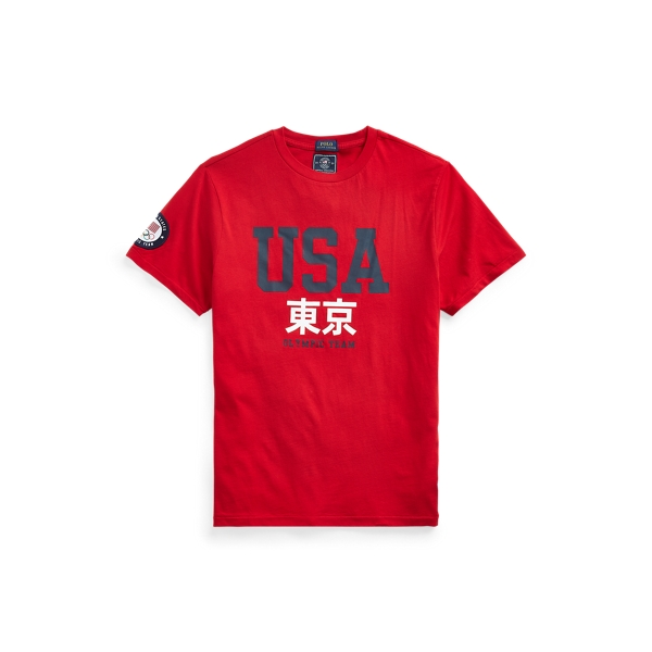 Polo Ralph Lauren TEAM USA ONE-YEAR-OUT GRAPHIC TEE