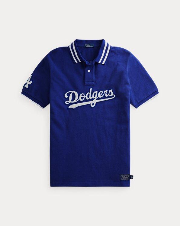Polohemd mit Dodgers-Logo