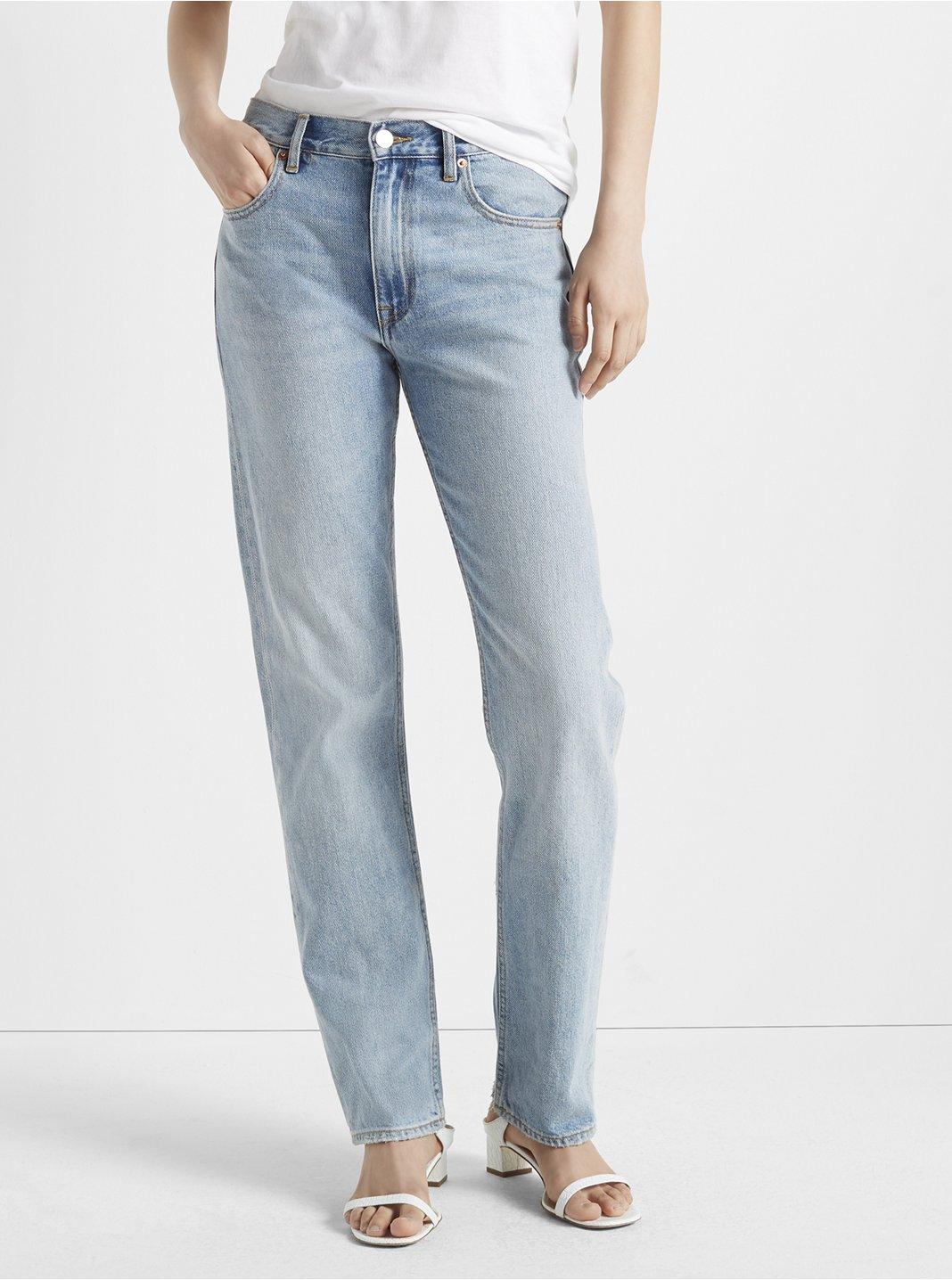 클럽 모나코 청바지 Club Monaco Relaxed Slim Crop Jean,Antique Blue Wash