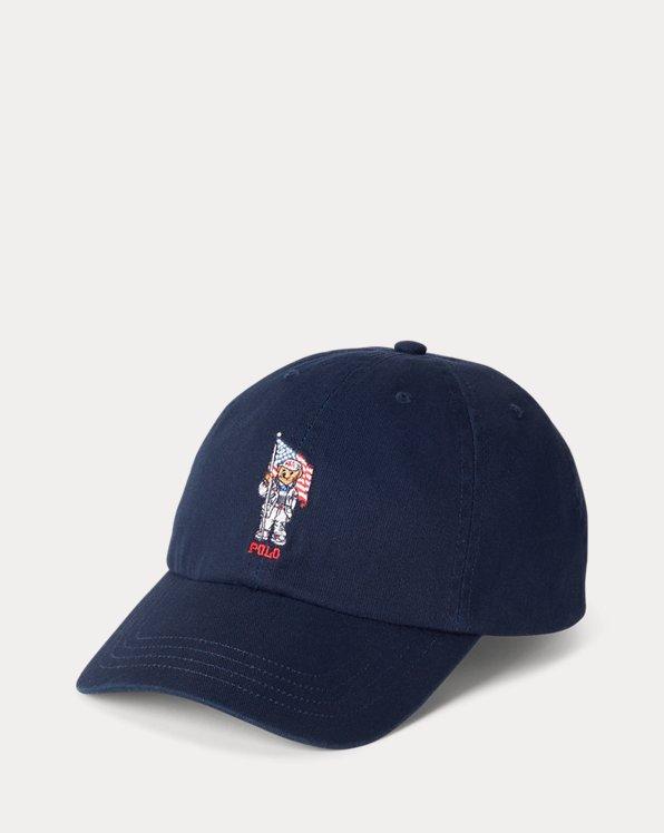 Team USA Polo Bear Chino Cap