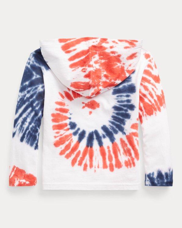 Team USA Tie-Dye Cotton Hooded Tee