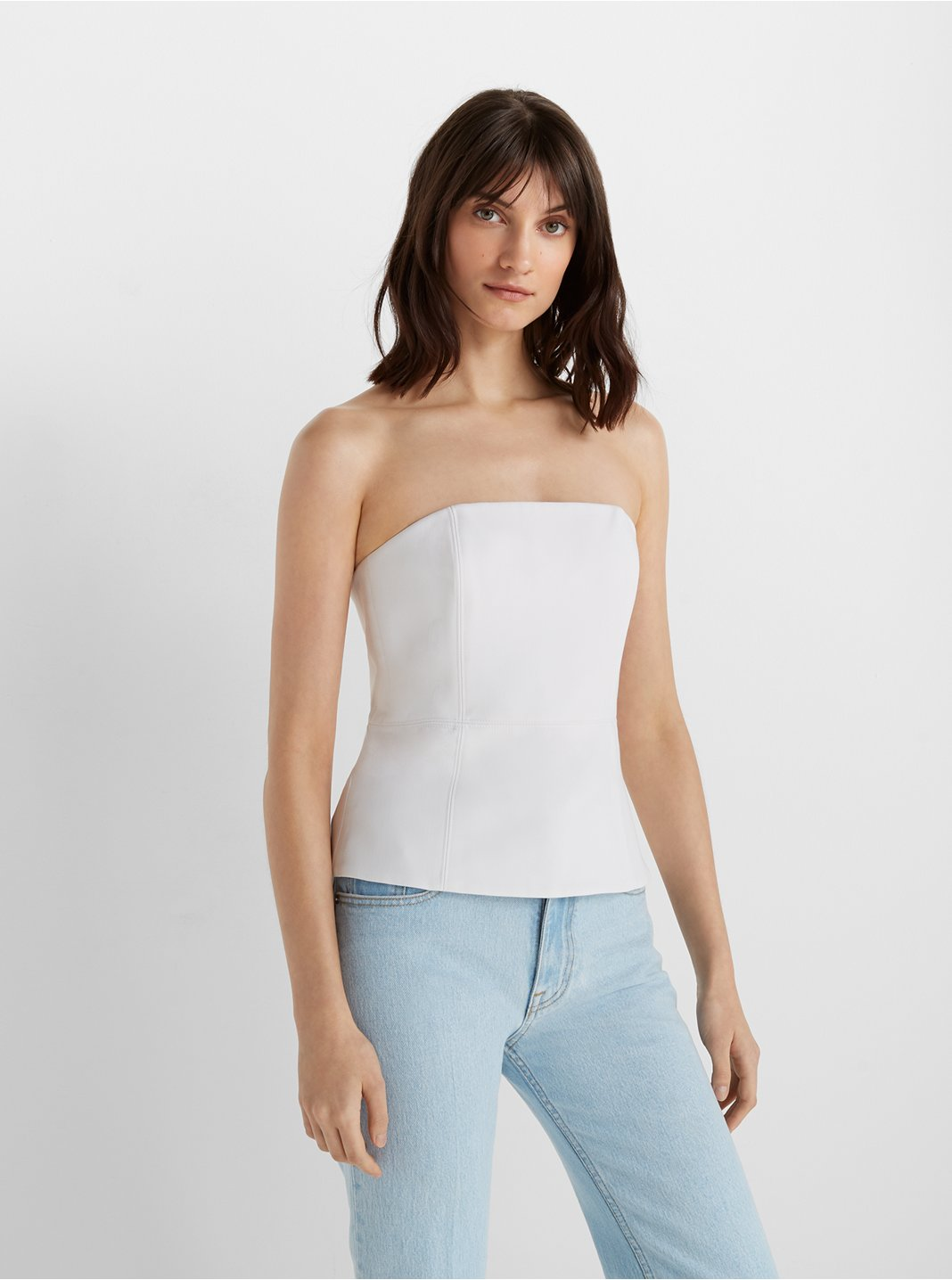 Sleeveless Structured Top