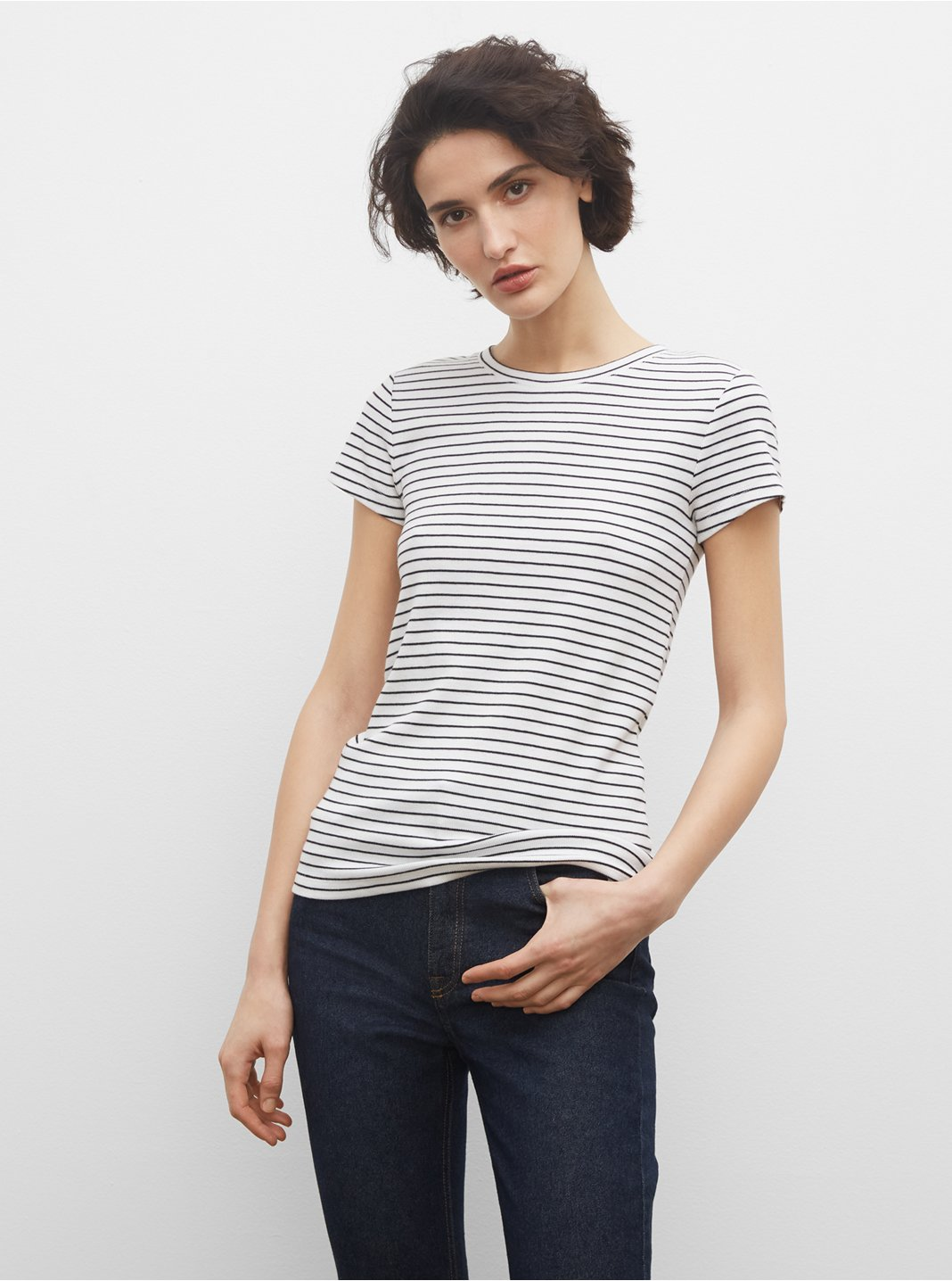 Striped Bowee Tee