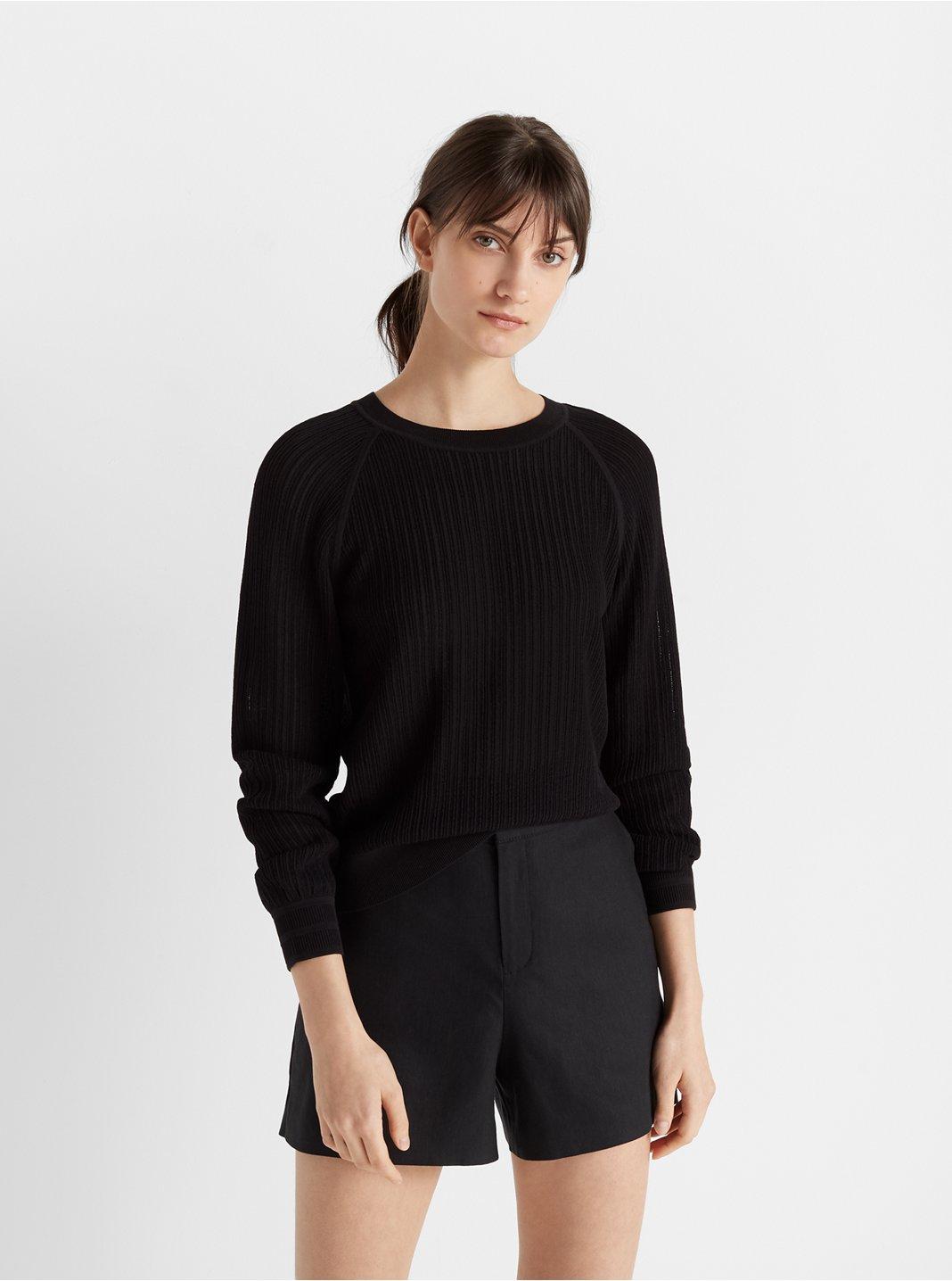 Open Stitch Sweatshirt