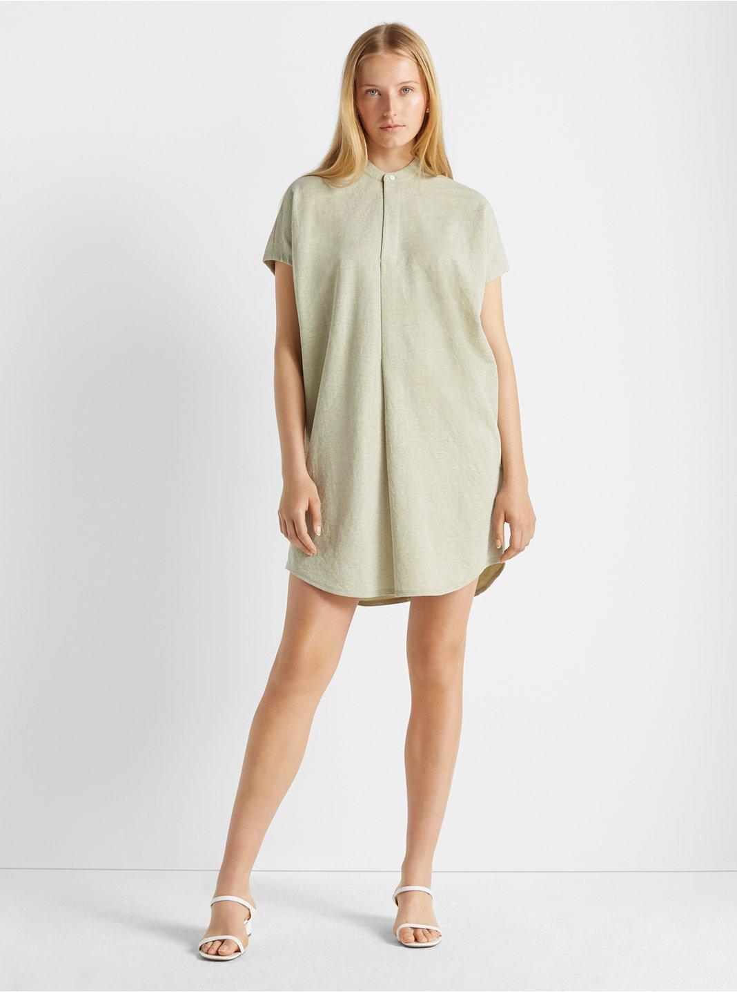 Knit Shirt Dress