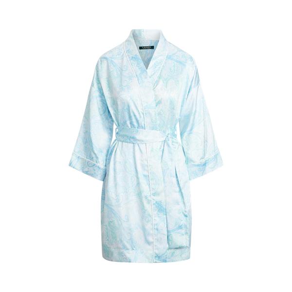 Polo Ralph Lauren Paisley Satin Robe