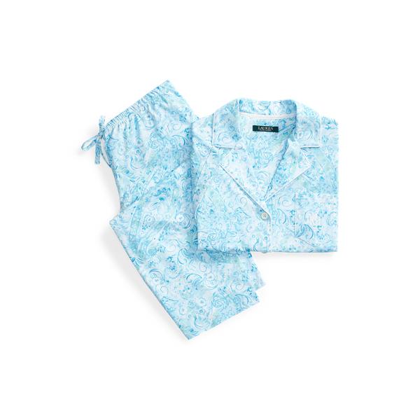 Polo Ralph Lauren Print Cotton Capri Sleep Set