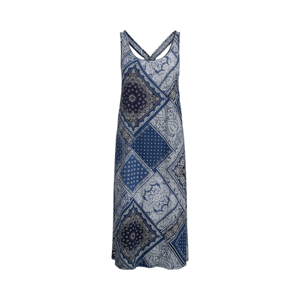 Polo Ralph Lauren Twist-Back Cotton Sleep Gown