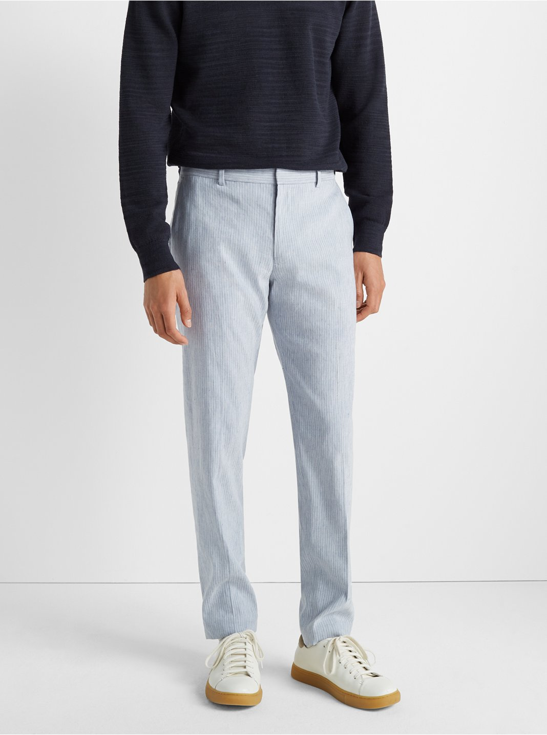 Sutton Linen Stripe Trouser