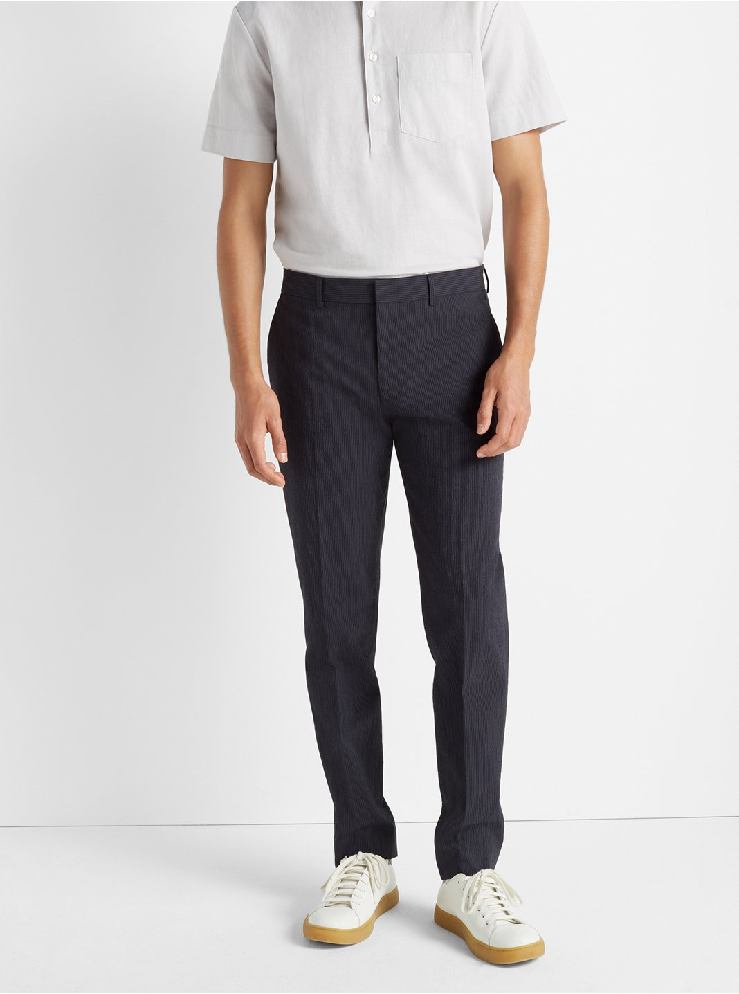 Sutton Seersucker Trouser