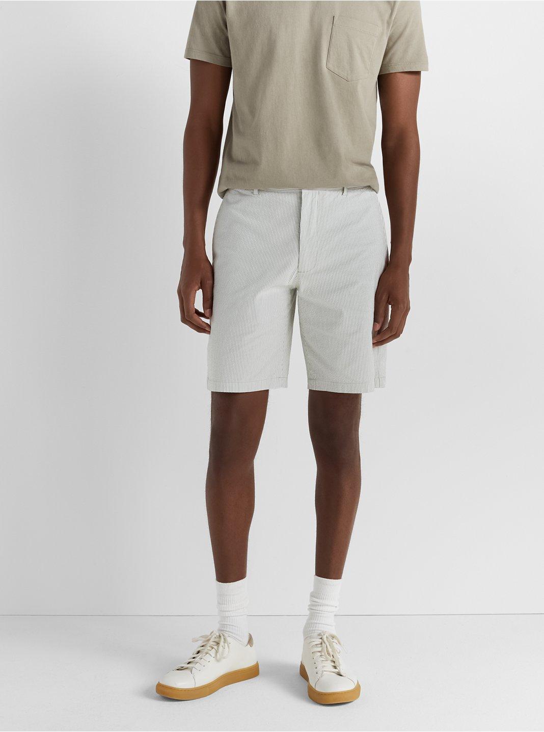 "Maddox Seersucker 9"" Shorts"