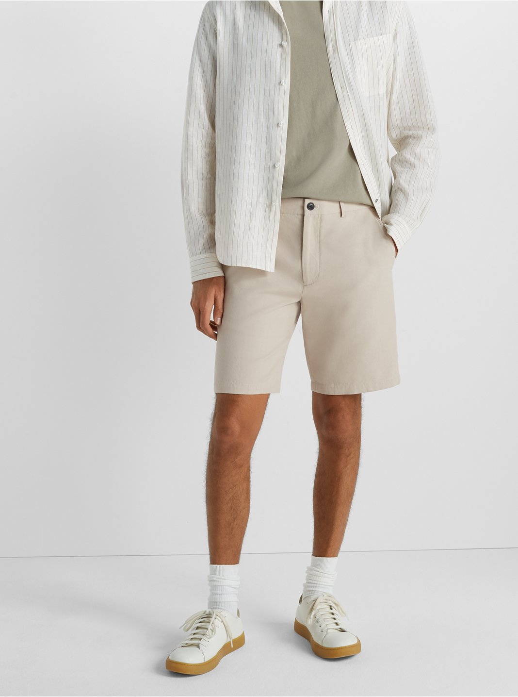 "Maddox Foulard Print 9"" Shorts"