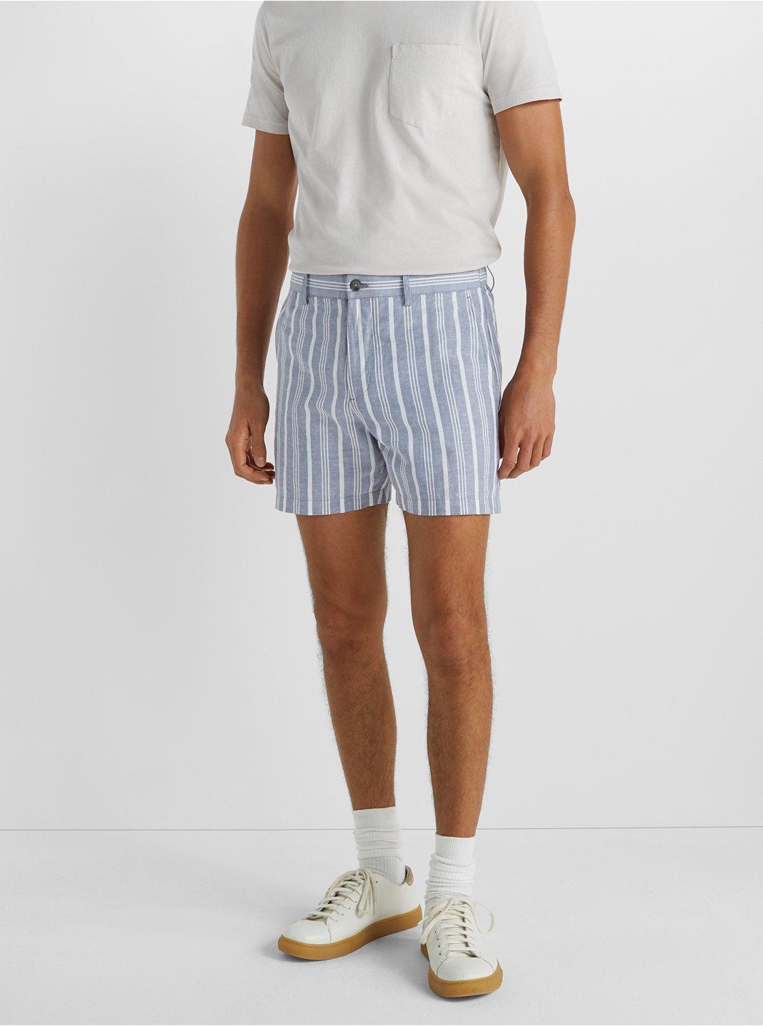 """Jax Copper Stripe 5"""" Shorts"""