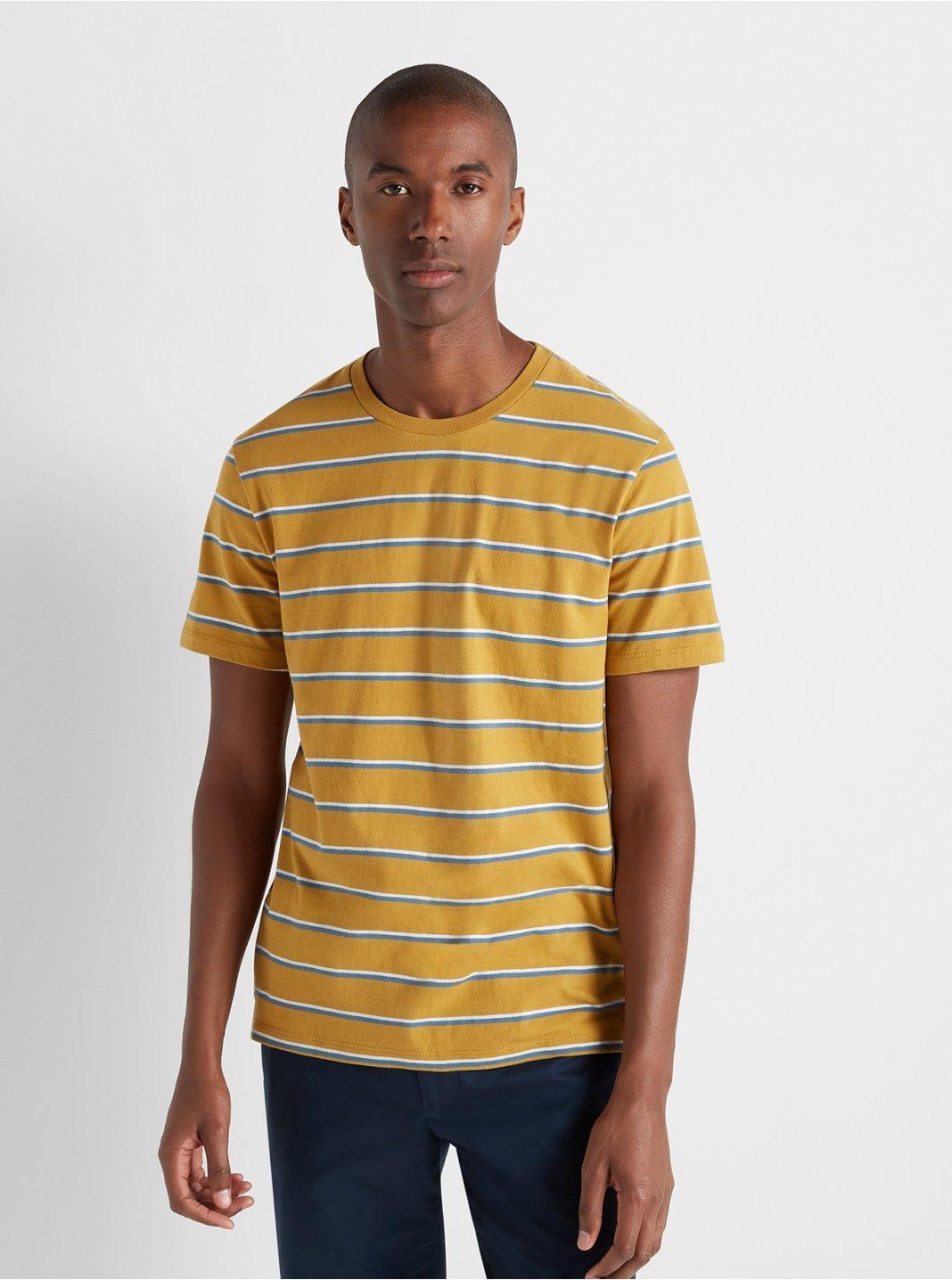 Short Sleeve Twin Stripe Tee