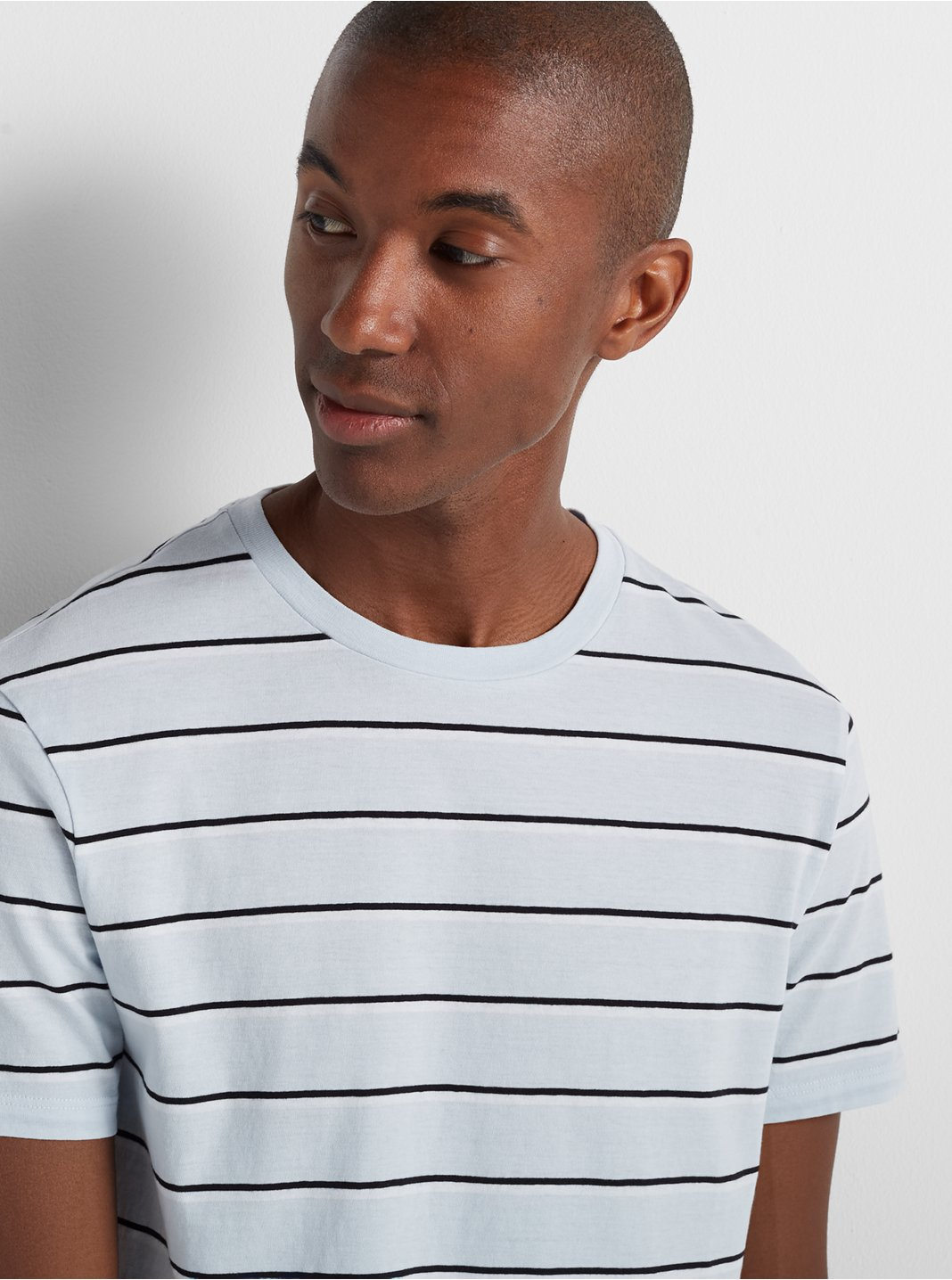 Short Sleeve Twin Stripe Tee