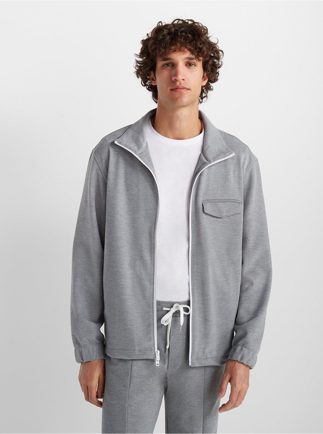 Pique Track Jacket