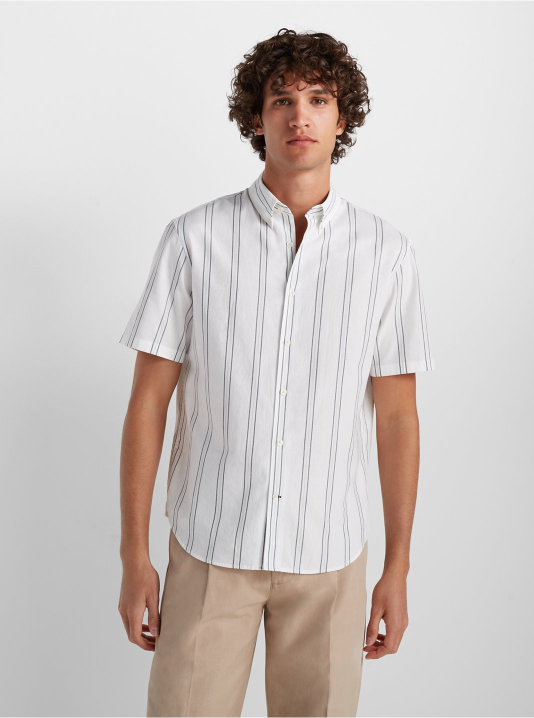Short Sleeve Deck Stripe Shirt