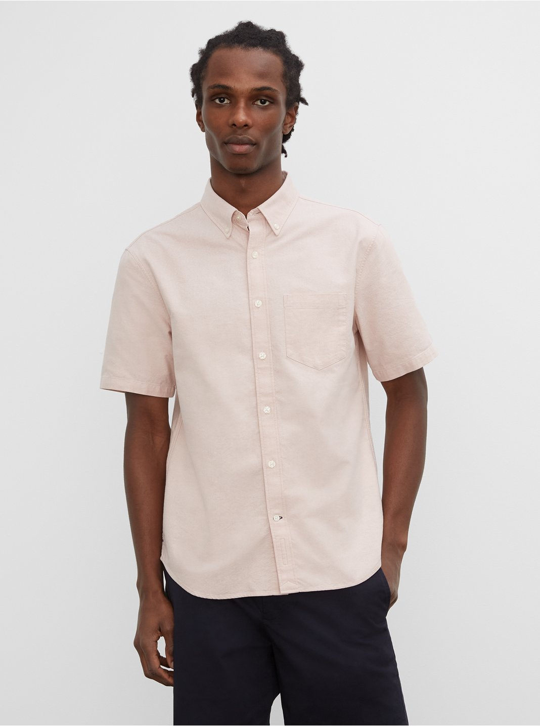 Short Sleeve Summer Oxford