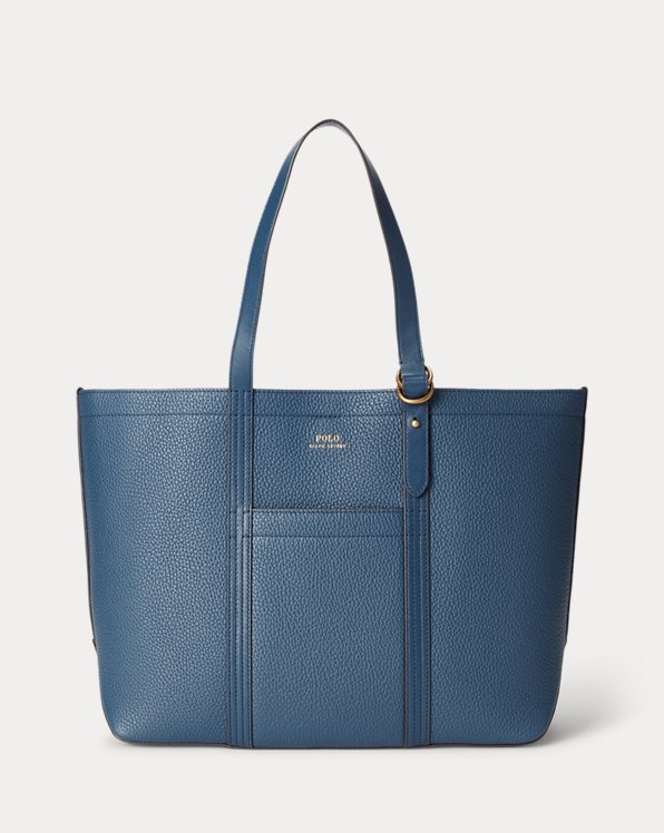 Pebbled Leather Medium Tote