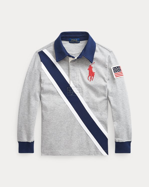 Big Pony Cotton Rugby Shirt