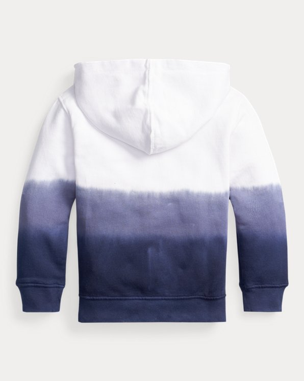 Dip-Dyed Cotton Terry Hoodie