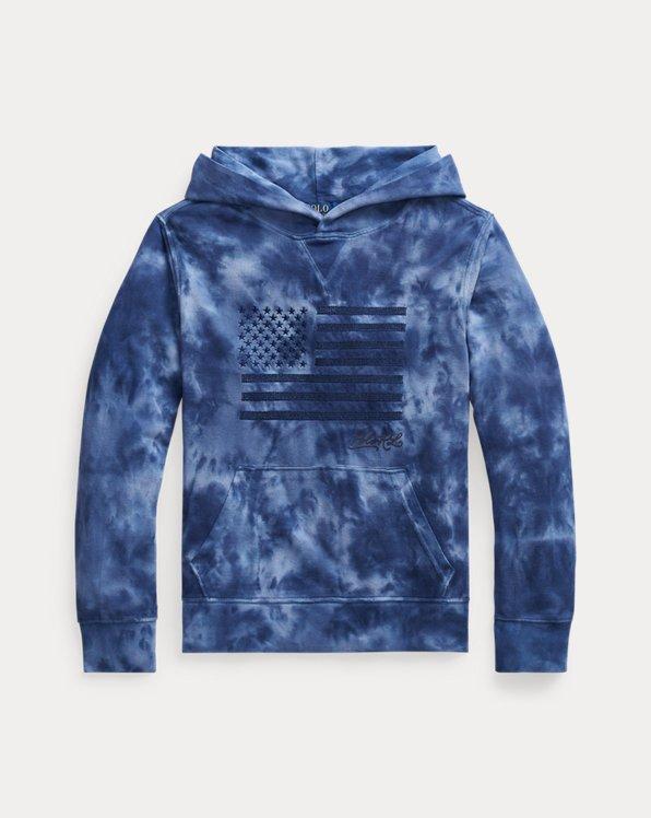 Kapuzen-T-Shirt aus Baumwollpiqué