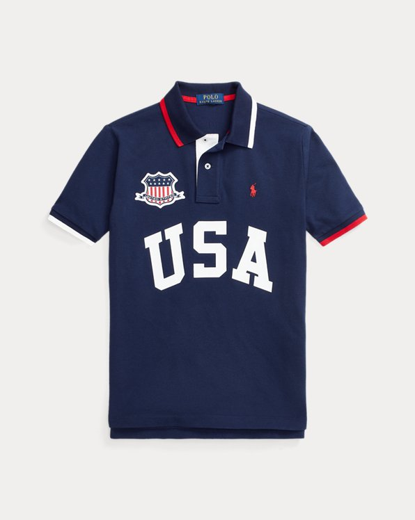 The Classic Fit USA Polo