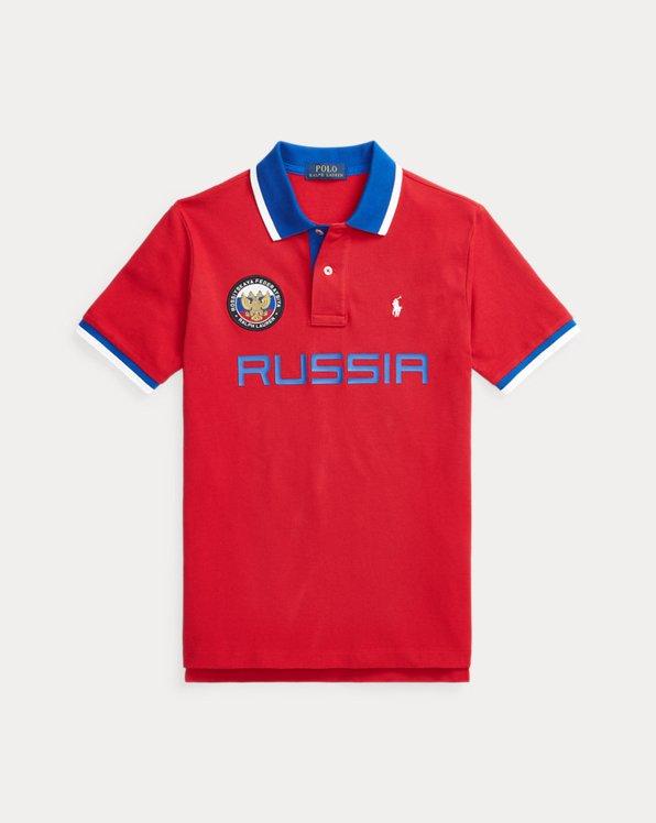 Classic-Fit Polo Russia