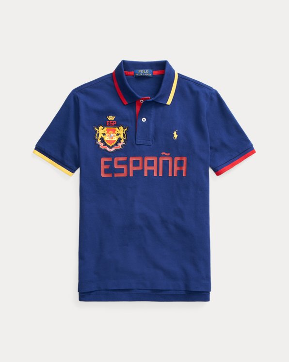 Classic-Fit Polo Spain