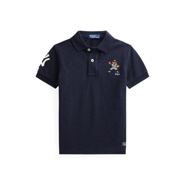 폴로 랄프로렌 남아용 폴로티 Polo Ralph Lauren Yankees Polo Shirt,Aviator Navy
