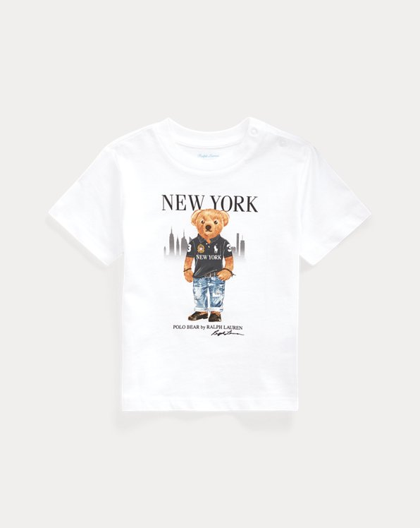 T-shirt coton New York Bear