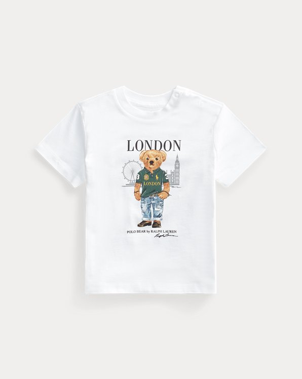 London Bear Cotton Jersey Tee