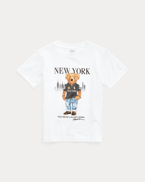 New York Bear Cotton Tee