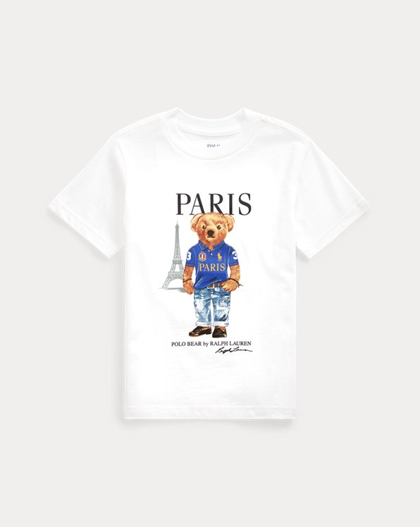 T-shirt jersey coton Paris Bear