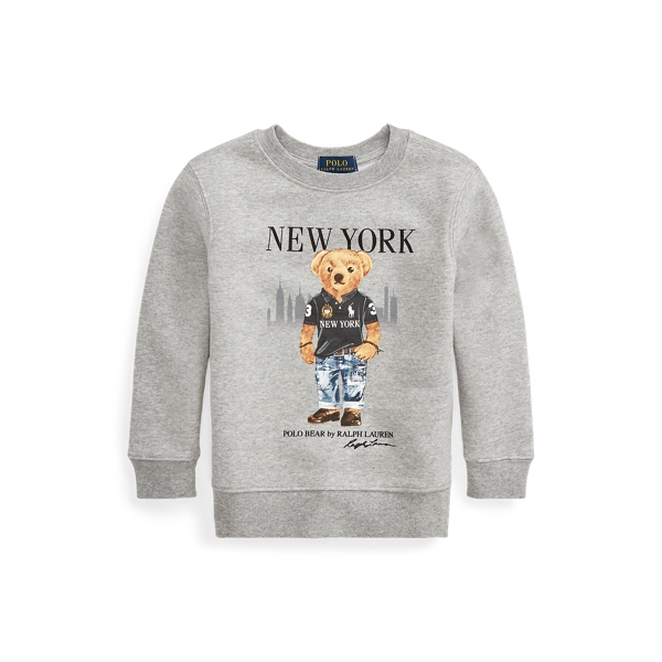 폴로 랄프로렌 Polo Ralph Lauren New York Bear Sweatshirt,Andover Heather
