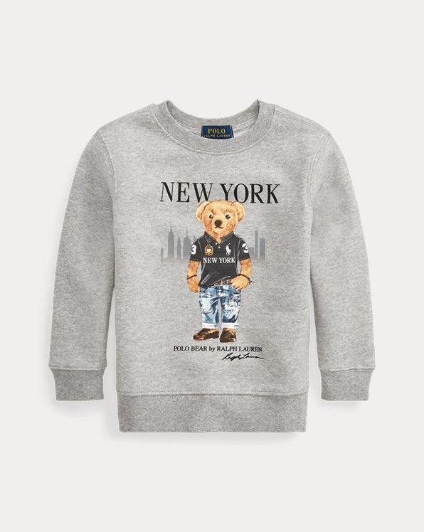 Sweatshirt mit New York Bear