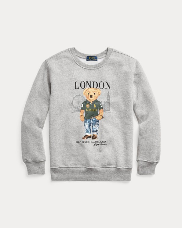 London Bear Fleece Sweatshirt