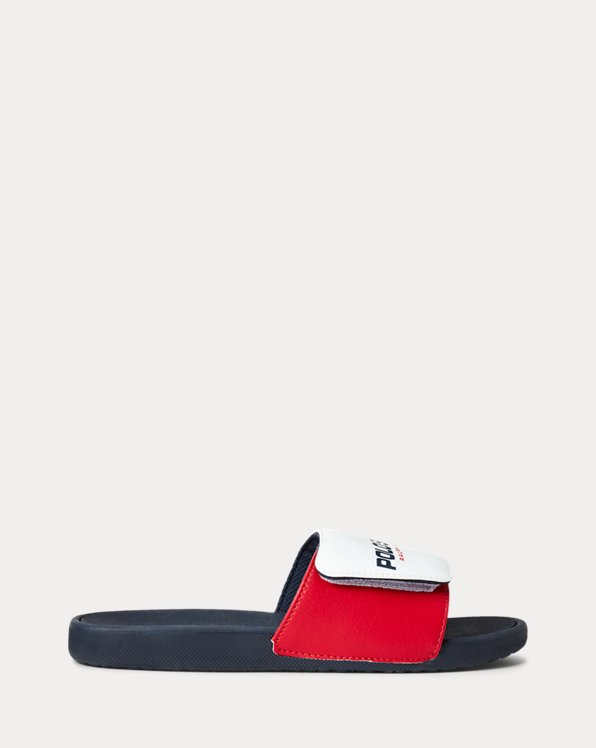 Leary Polo Sport Slide Sandal