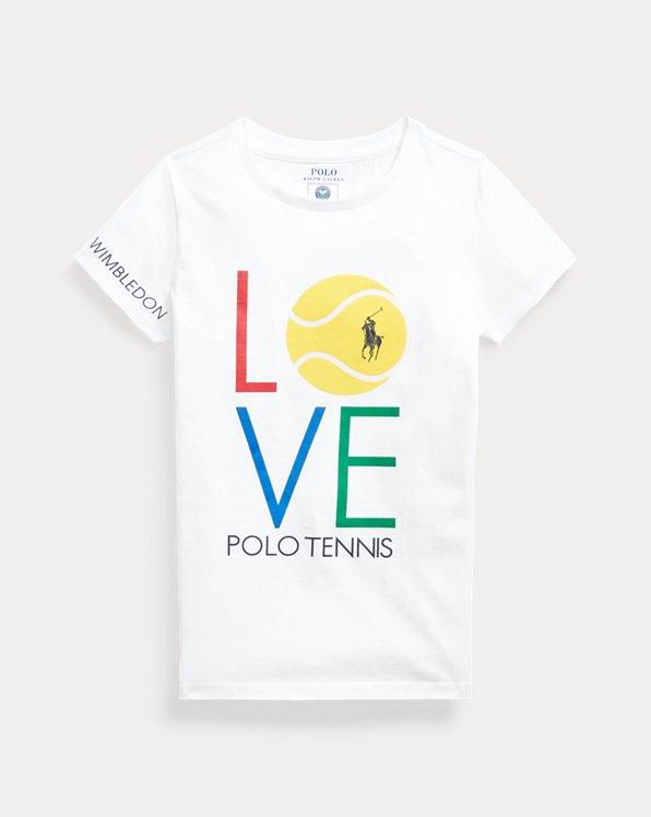 Maglietta in jersey di cotone Wimbledon